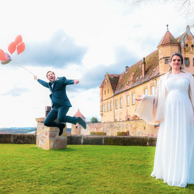 Brautpaar Burg Stettenfels Heibronn