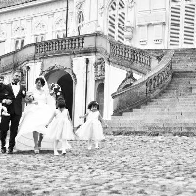 Familie Brautpaar-Shooting Schloss Solitude