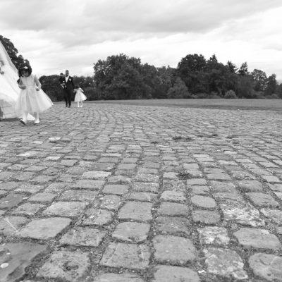 Familie Brautpaar-Shooting in Schloss Solitude