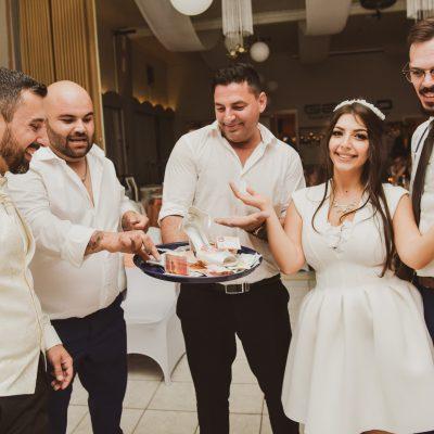 Anschließende Feier in Hochzeit Fellbach