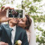 Brautpaar in Max-Eyth-See