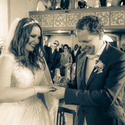 Trauung Brautpaar bei einer Hochzeit