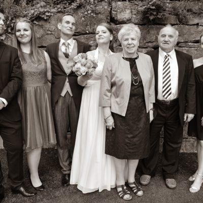 Hochzeit Familien- Gruppenfotos in Reutlingen