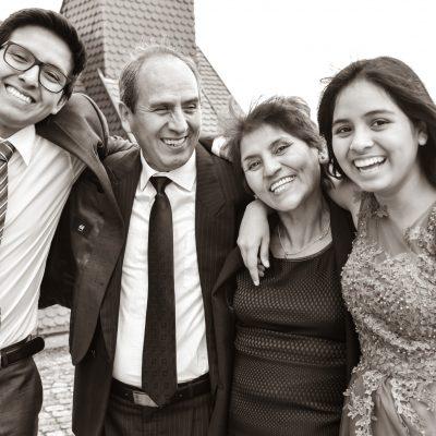 Peruanische Familie Hochzeit in Herrenberg